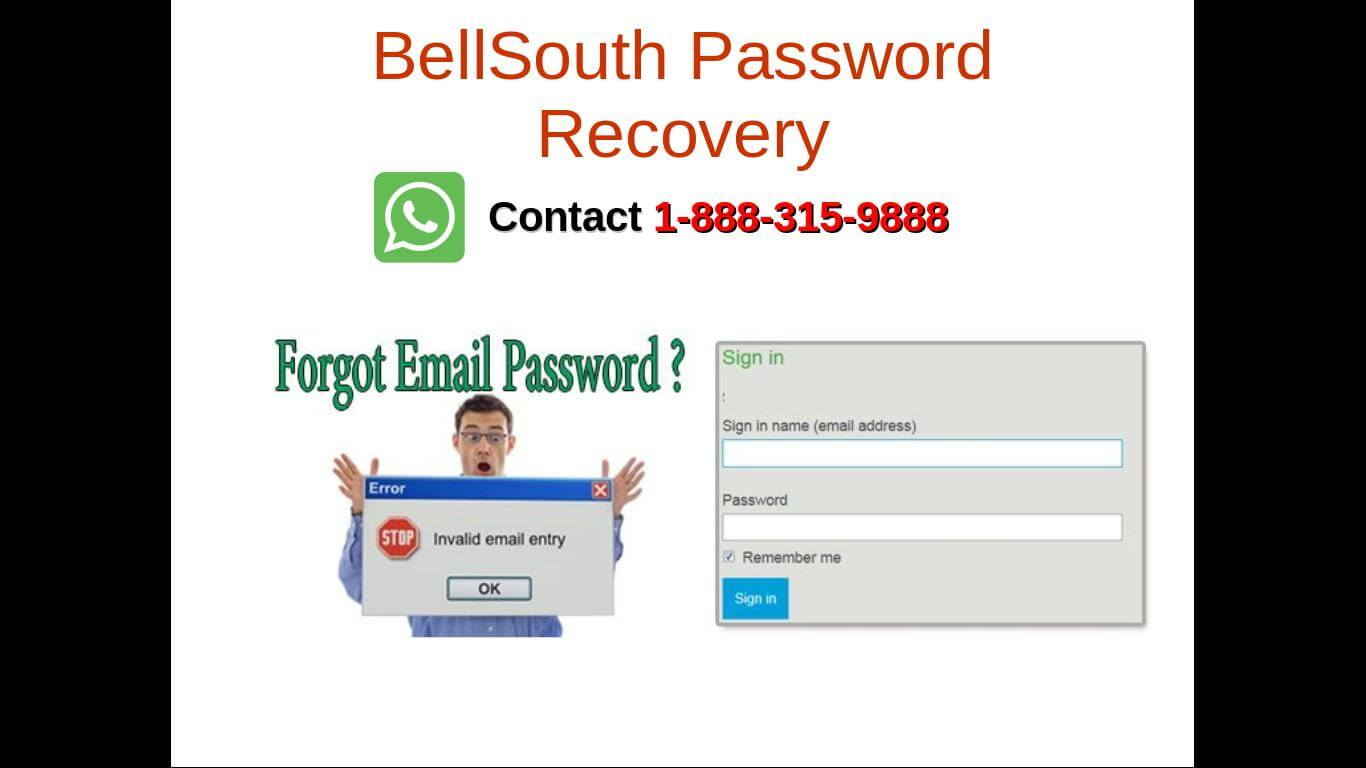 Bellsouth password recovery