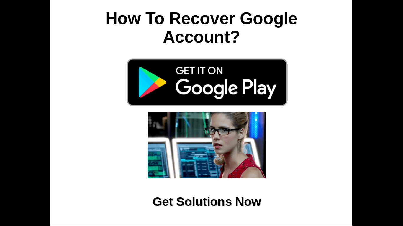 google play store account recovery